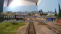 Modelleisenbahn FREMO Module der Dampfbahn Furka Bergstrecke im Bahnsteig Holtmann - Ein Film von Pennula über digitale Modelleisenbahnen sowie Modellbahnen und Modellbau der Eisenbahn