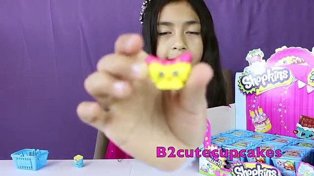 Shopkins Blind Baskets-Opening a Whole Box of Shopkins Toys|B2cutecupcakes