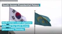 North Korean Negotiator Rails At South Korean 'Human Scum'