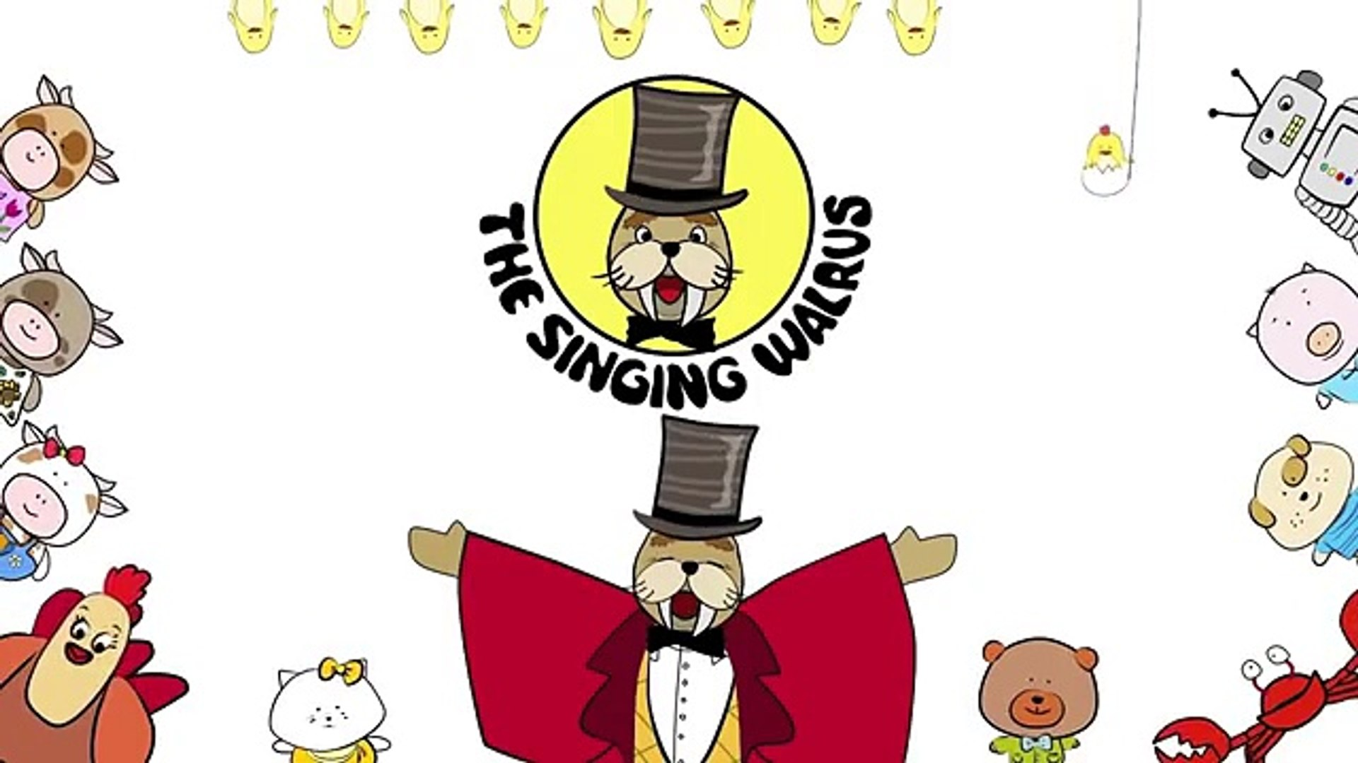Big Numbers Song Count To 100 Song The Singing Walrus Video Dailymotion