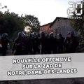 Nouvelle offensive matinale des gendarmes mobiles à Notre-Dame-des-Landes