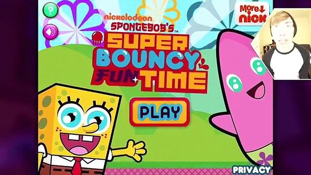 SPONGEBOBS SUPER BOUNCY FUN TIME DELUXE (iPad Gameplay Video)