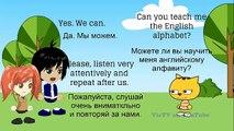 Английский для детей 2 урок. Английский алфавит.для детей.