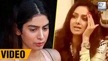 Sridevi Shouting At Khushi Kapoor Old Video Goes Viral