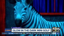 Experience glow-in-the-dark mini golf in Chandler