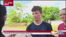 Student describes shooting at Santa Fe, Texas high school