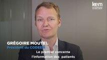 Grégoire Moutel présente le bilan 2017 du Codeem