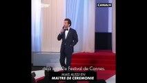 Portrait d'Édouard Baer - Cannes 2018