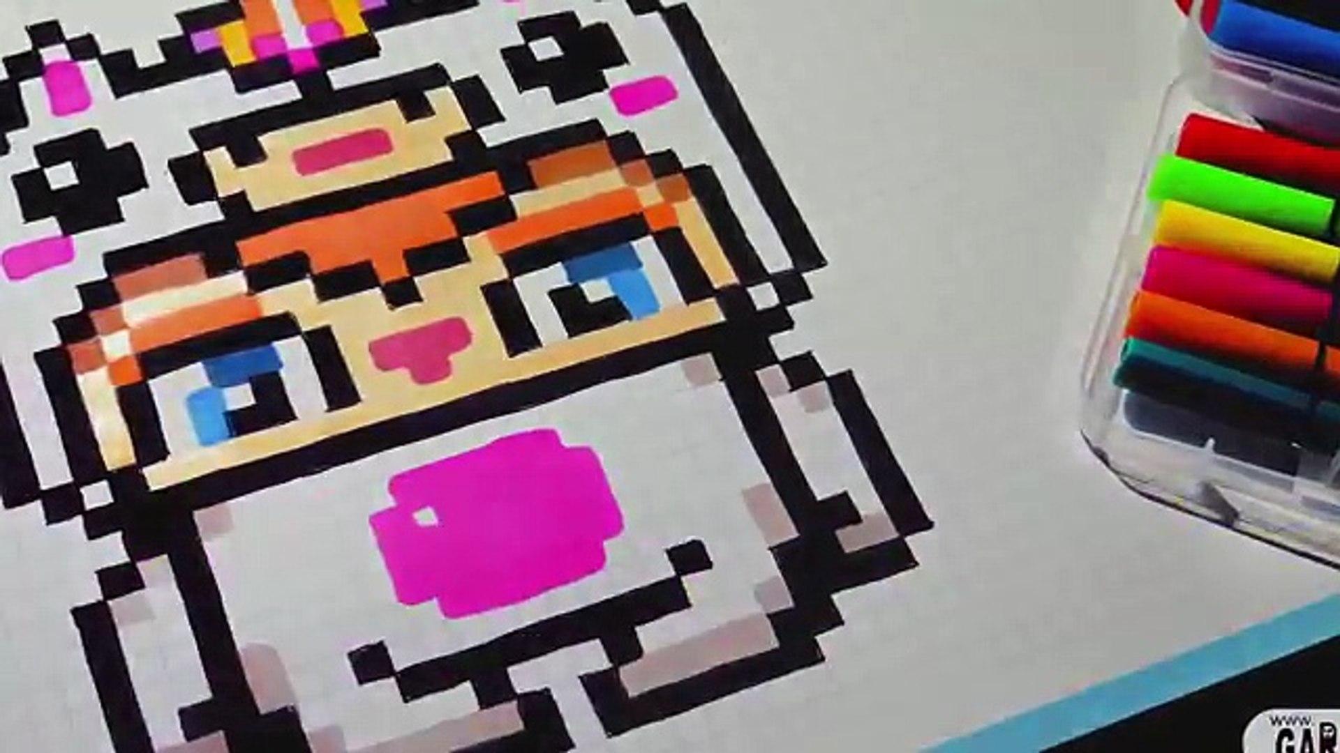 Handmade Pixel Art Unicorn Boy How To Draw Kawaii By Garbi Kw Pixelart