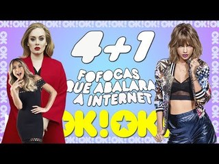 Taylor Swift de tour nova, Adele trintou e Sabrina nova mamãe - 4+1