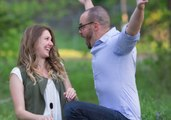 Wife Reveals Pregnancy to Husband in Surprise Photoshoot