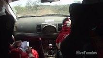 """Ce pilote de rallye se fait engueuler par son copilote : """"tu ne m'écoutes pas Samir"""""""