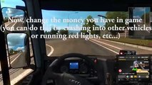 Euro Truck Simulator 2 cheats to level up and get unlimited