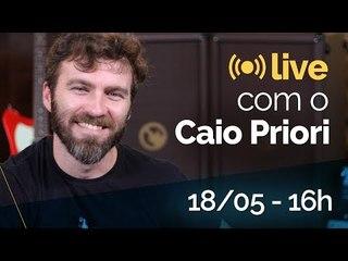 [live] Papo com Caio Priori