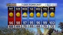 Nice weekend weather ahead for the Valley