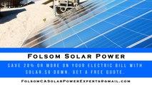 Affordable Solar Energy Folsom - Folsom Solar Energy Costs