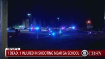 1 killed in shooting near Georgia high school, authorities say