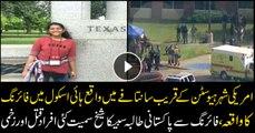 Pakistani exchange student among ten killed in Texas school shooting