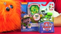 Paw Patrol Rocky Action Pack Pup and Badge Figure Review [Nickelodeon]