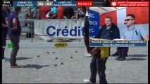 Championnats Régionaux Rhône-Alpes 2018 : Triplette Huitième Drôme VS Loire