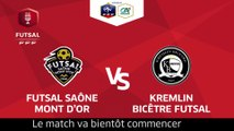 Finale Coupe Nationale Futsal I Saône Mont D'Or / Kremlin Bicêtre - Samedi 19 Mai à 17h30