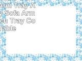 Sofa Tray Table  Oak Tree Sofa Arm Tray Armrest Tray Sofa Arm Table Couch Tray Coffee