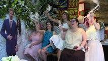 EUA: fãs assistem ao casamento da princesa americana