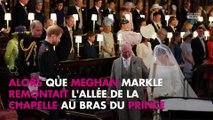Mariage du prince Harry et Meghan Markle : Les mots étonnants de Harry face à la robe de Meghan Markle (vidéo)