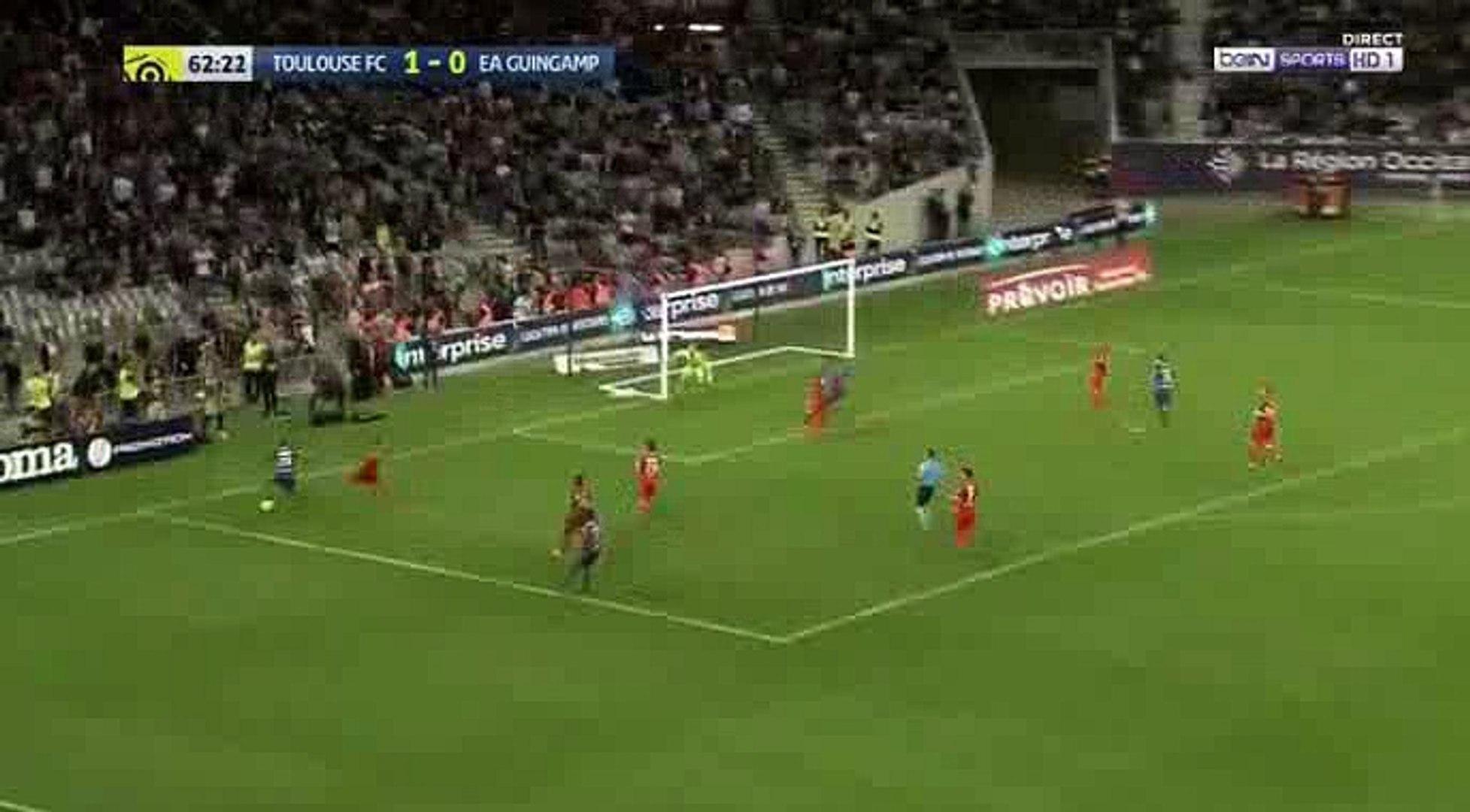 Yaya Sanogo Goal - Toulouse 2 - 0 Guingamp 19-05-2018