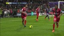Le but du break contre Guingamp signé Yaya Sanogo
