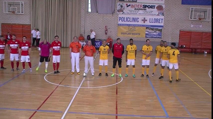 [coupe d'europe des vainqueurs de coupe 2018] Le Luc - Spartak Moscou (mi-temps 1)