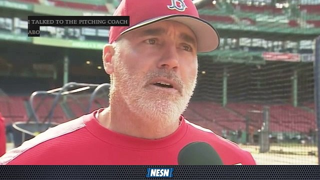 Red Sox First Pitch: Dana LeVangie On Adjustments Rick Porcello Has Made