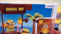 Lego Minions Mega Bloks Banana Bar set speed build, lego minions video- CKC