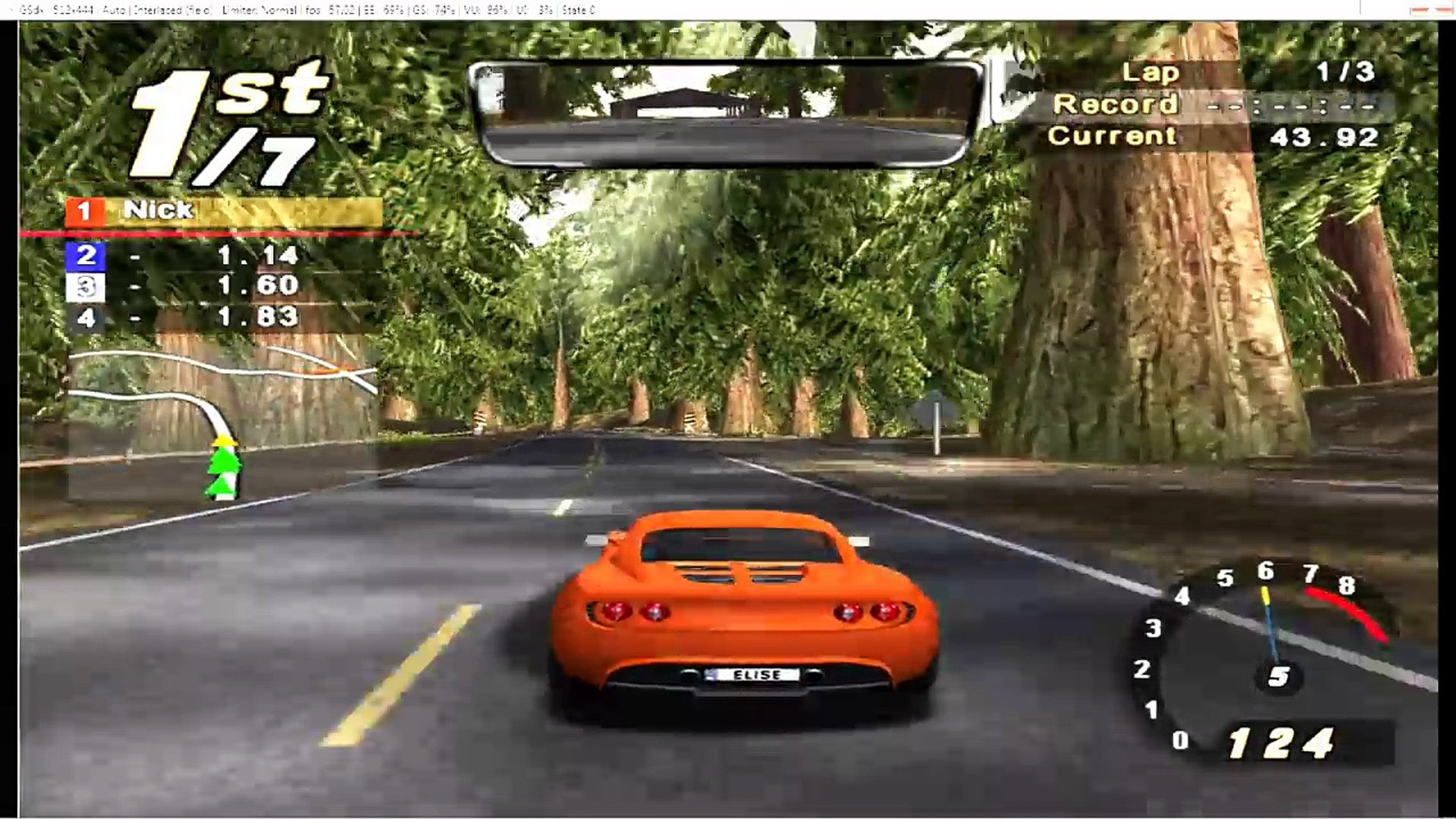 Need For Speed Hot Pursuit 2 Lotus Elise World Racing