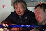 Kenji Fujimori celebra cumpleaños número 38 junto a su padre