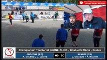 Championnats Régionaux Rhône-Alpes 2018 : Mixte poules Ardèche VS Savoie