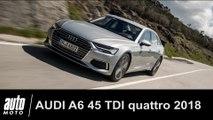 2018 Audi A6 45 TDI Quattro ESSAI POV Auto-Moto.com