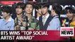 """BTS wins """"Top Social Artist"""" award two consecutive years in BBMAs"""