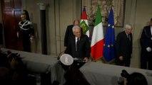 Egy nevet vár délutánra az olasz államfő
