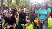 Réunion la 1ere vous remercie toutes et tous! Bon dimanche avec Bernard Joron #laReunion solidaire des #handicapables #diversite #Mayotte une première édition