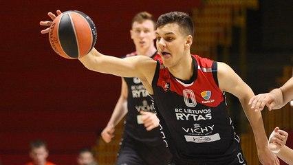EB ANGT Finals MVP: Deividas Syrvidis, U18 Lietuvos rytas Vilnius