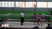 Cindy Rivas VS Dalia Lopez - Boxeo Amateur - Miercoles de Boxeo