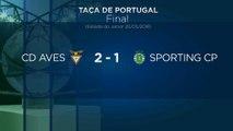 Desportivo das Aves vence Taça de Portugal