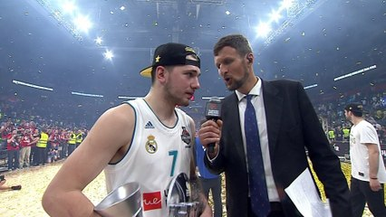 Post-game Interview: MVP Luka Doncic, Real Madrid