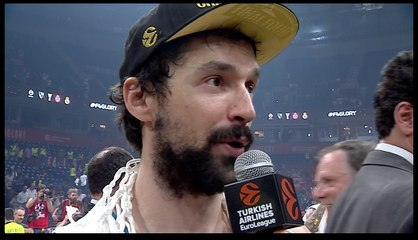 Post-game Interview: Sergio Llull, Real Madrid
