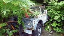 Abandoned WW2 jeeps 2016. Amazing abandoned military vehicles WW2. Deserted army cars