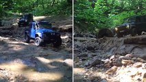 4x4 off-road rc adventures Land Rover defender 110, defender 130, TLC80, defender 110 pickup
