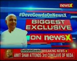 Former PM H. D. Deve Gowda speaks exclusively to NewsX over H D Kumaraswamy's sworn in