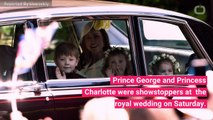See Prince George, Princess Charlotte's Cutest Moments at the Royal Wedding
