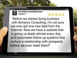 Alchemy Consulting Group Albuquerque 505-720-2647 Great Five Star Review by Lindsey Sheba
